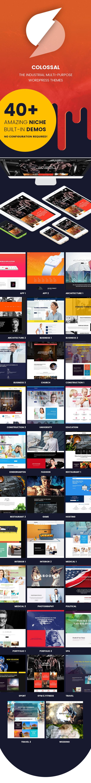 Colossal - Industrial multi-purpose WordPress Theme