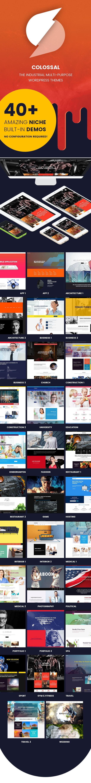 Industrial WordPress Template